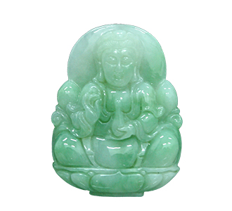 Carving of jade